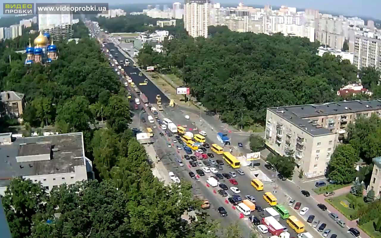Реконструкция проспекта Победы