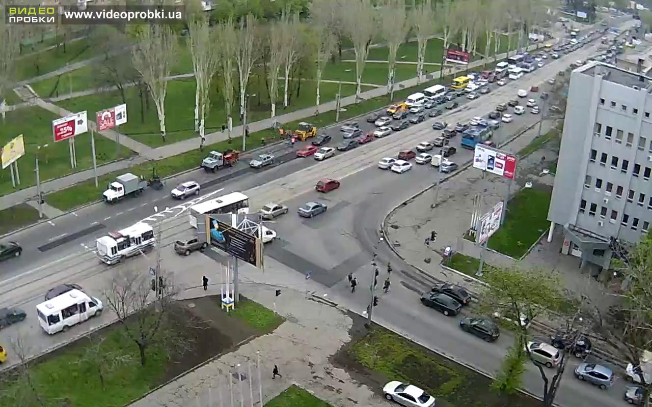 Ленинский проспект в Донецке